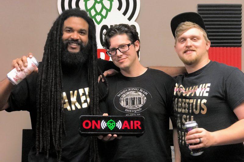 Pontoon Brewing Crew at Beer Guys Radio studio