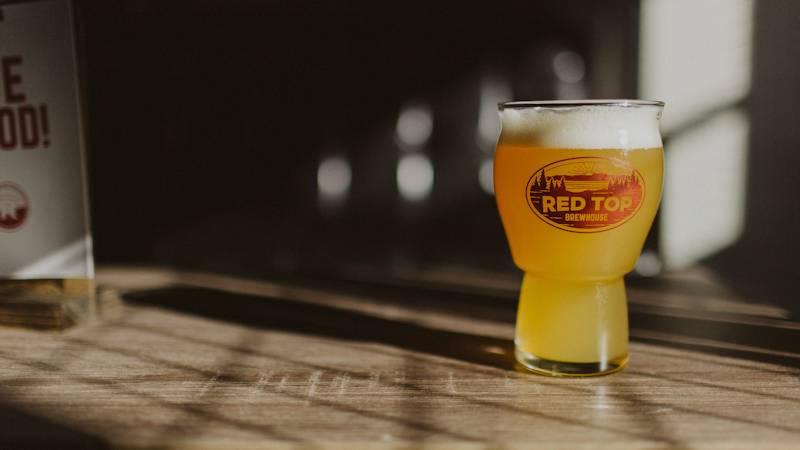 Red Top Brewhouse Beer